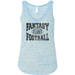 Fantasy Football Legend - Ladies' Flowy V-Neck Tank