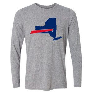 Buffalo is New York's Football Team - Light Long Sleeve Ultra Performance Active Lifestyle T Shirt