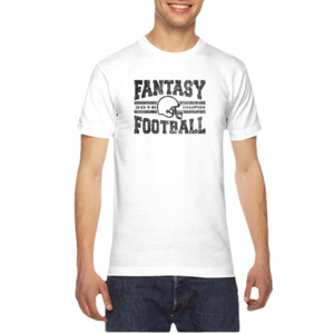 2016 Fantasy Football Champion H Helmet - American Apparel Unisex T-Shirt