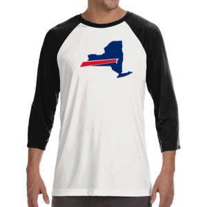 Buffalo is New York's Football Team - ALO 100% Performance Unisex Baseball T-Shirt