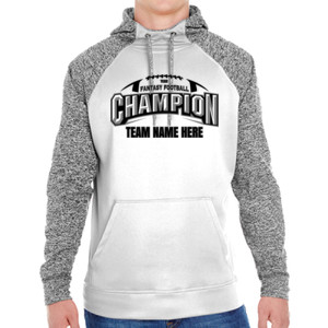 Fantasy Football Champion Arch Football - Adult Colorblock Cosmic Pullover Hood (S)