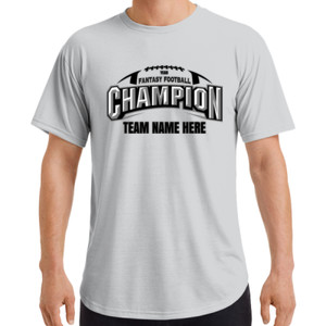 Fantasy Football Champion Arch Football - Adult Curve T-Shirt (S)