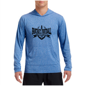 2018 Fantasy Football Champion V Outline - Performance Hooded Pullover (S)
