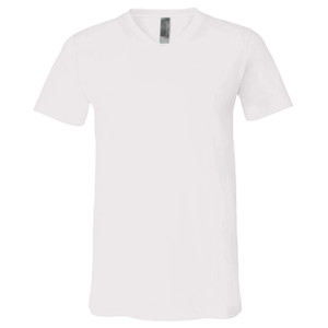 2018 Fantasy Football Champion V Outline - White Marble Unisex Jersey Short-Sleeve V-Neck T-Shirt