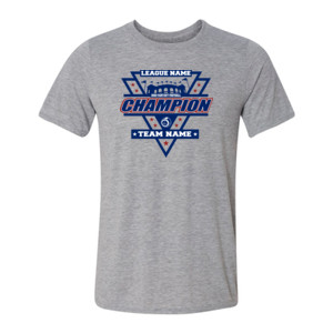 Fantasy Football Champion Stadium/Shield - Light Youth/Adult Ultra Performance Active Lifestyle T Shirt
