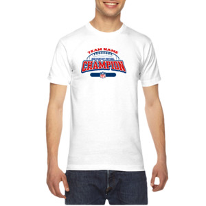 Fantasy Football Champion - Football Outline FFL - American Apparel Unisex T-Shirt