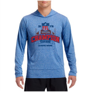 Fantasy Football Champion - Goalpost FFL - Performance Hooded Pullover (S)