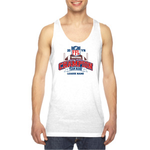 Fantasy Football Champion - Goalpost FFL - American Apparel Unisex Sublimation Tank