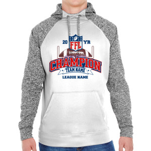 Fantasy Football Champion - Goalpost FFL - Adult Colorblock Cosmic Pullover Hood (S)