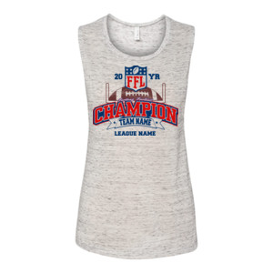 Fantasy Football Champion - Goalpost FFL - Bella Flowy Scoop Muscle Tank (S)
