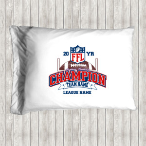 Fantasy Football Champion - Goalpost FFL - Pillow Case