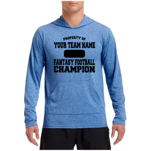 Custom Property of Fantasy Football Champion - Performance Hooded Pullover (S)