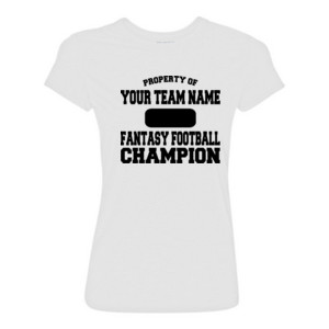Custom Property of Fantasy Football Champion - Light Ladies Ultra Performance Active Lifestyle T Shirt