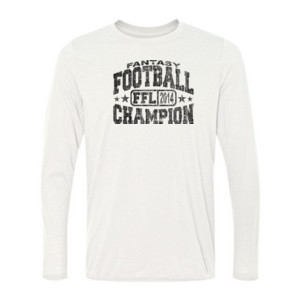 Fantasy Football Champion FFL 2014 - Light Ladies Long Sleeve Ultra Performance 100% Performance T Shirt