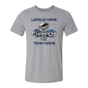 Fantasy Football Champion Large Trophy - Light Youth/Adult Ultra Performance Active Lifestyle T Shirt
