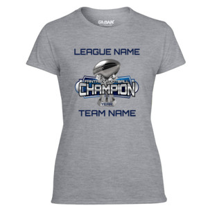 Fantasy Football Champion Large Trophy - Light Ladies Ultra Performance Active Lifestyle T Shirt