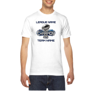 Fantasy Football Champion Large Trophy - American Apparel Unisex T-Shirt