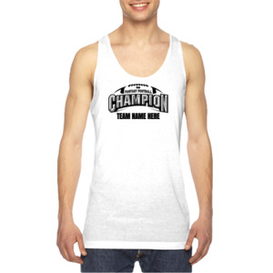 Fantasy Football Champion Arch Football - American Apparel Unisex Sublimation Tank