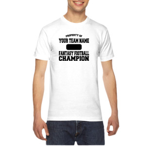 Custom Property of Fantasy Football Champion - American Apparel Unisex T-Shirt