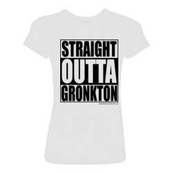 90ea9c250 Straight Outta Gronkton Fantasy Football T-shirt Light Youth/Adult Ultra  Performance Active Lifestyle