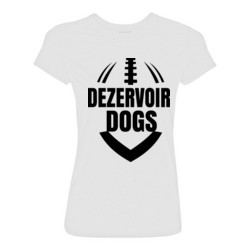 Dezervoir Dogs - Light Ladies Ultra Performance Active Lifestyle T Shirt
