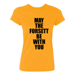May the Forsett Be With You - Light Ladies Ultra Performance Active Lifestyle T Shirt