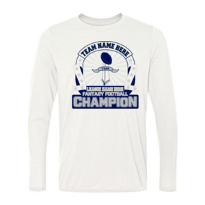 Fantasy Football Championship Design - Light Ladies Long Sleeve Ultra Performance Active Lifestyle T Shirt