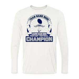 Fantasy Football Championship Design - Light Long Sleeve Ultra Performance Active Lifestyle T Shirt