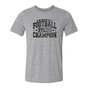 Fantasy Football Champion FFL 2014 - Light Youth/Adult Ultra Performance Active Lifestyle T Shirt