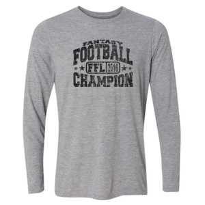Fantasy Football Champion FFL 2014 - Light Youth Long Sleeve Ultra Performance Active Lifestyle T Shirt