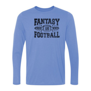 2016 Fantasy Football Champion Football - Light Ladies Long Sleeve Ultra Performance Active Lifestyle T Shirt