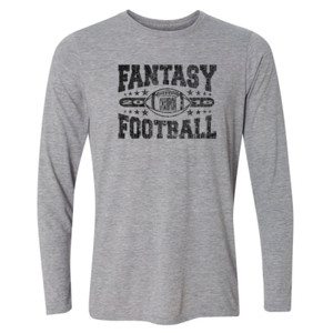 2016 Fantasy Football Champion Football - Light Youth Long Sleeve Ultra Performance Active Lifestyle T Shirt