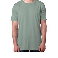 Men's Poly/Cotton Short-Sleeve Crew Tee