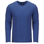 Men's Triblend Long-Sleeve Crew