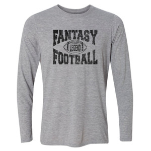 Fantasy Football Legend - Light Youth Long Sleeve Ultra Performance Active Lifestyle T Shirt