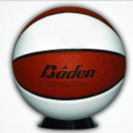 Custom Laser Basketball with Stand