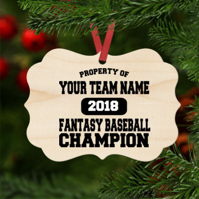 Fantasy Baseball Ornaments Thumbnail