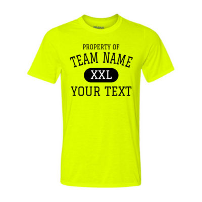 Custom Property of Any Sport  - Light Youth/Adult Ultra Performance 100% Performance T Shirt Thumbnail