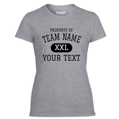 Custom Property of Any Sport  - Light Ladies Ultra Performance 100% Performance T Shirt Thumbnail