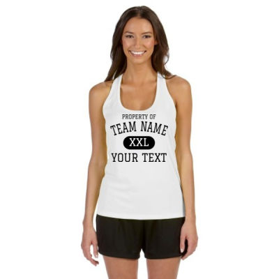 Custom Property of Any Sport  - Alo Sport Ladies' Performance Racerback Tank Thumbnail
